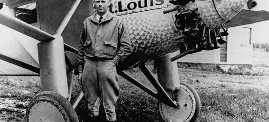 La caravana de Charles Lindbergh
