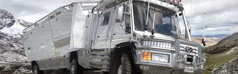 La Kiravan una autocaravana para expediciones polares