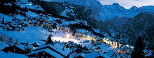 Los alpes suizos en autocaravana autocaravanas europa - Casas en los alpes suizos ...
