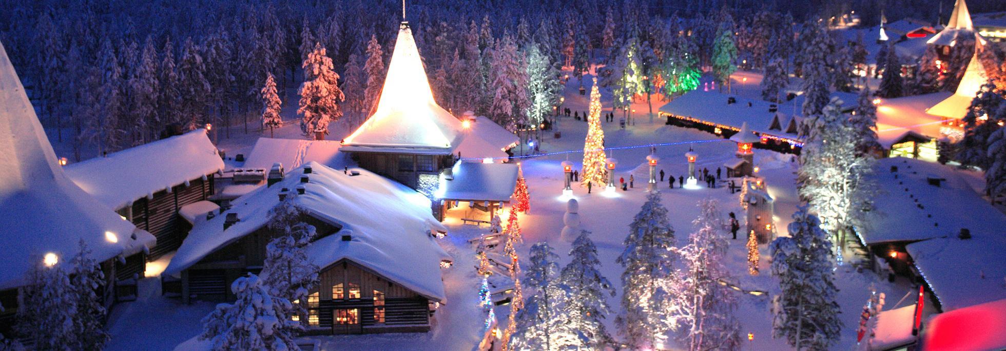 Visita a Santa Claus en autocaravana